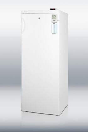 Summit UF850LMEDDT MEDDT Series  Freezer with 6.4 cu. ft. Capacity in White