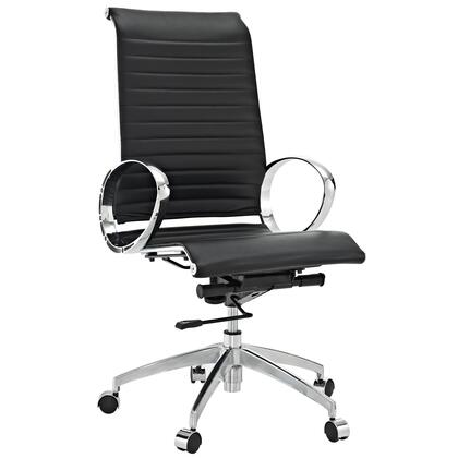 """Modway EEI504BLK 23"""" Adjustable Contemporary Office Chair"""