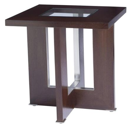 Allan Copley Designs 3110402 Contemporary Square End Table