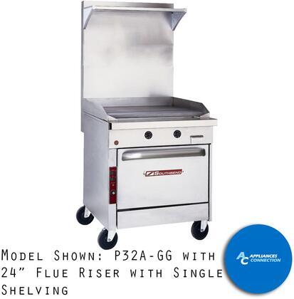 24 Inch Flue Riser with Single Shelving