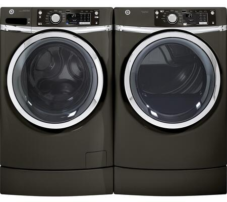 GE 653083 RIGHTHEIGHT Washer and Dryer Combos