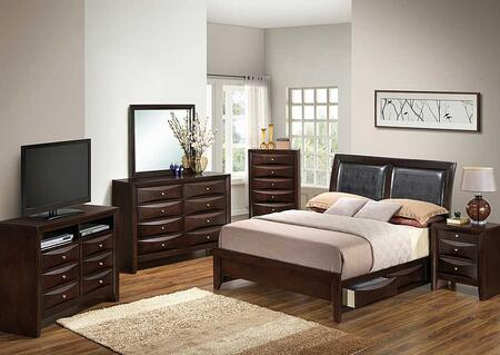 Glory Furniture G1525DDQSB2NTV2 G1525 Queen Bedroom Sets