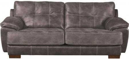 "Jackson Furniture Drummond Collection 4296-03- 97"" Sofa with Block Feet, Tufted Cushions and Padded Polyester Fabric in"