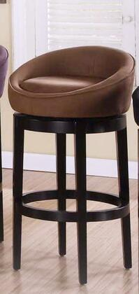Armen Living LCIGBAMFBR30 Residential Fabric Upholstered Bar Stool