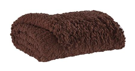 Signature Design by Ashley Araminta A100039X 3 Decorative Throws, 100% polyester, Fringe Details, Dry Clean Only in