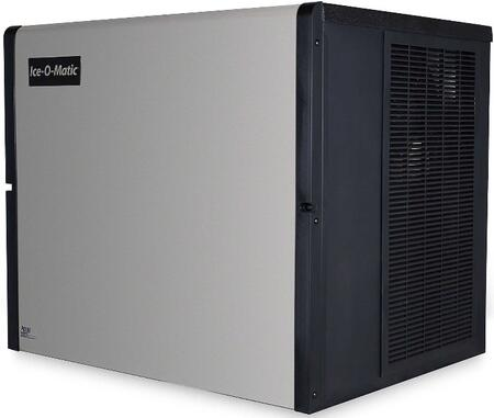 Ice-O-Matic ICE1006 ICE Series Modular  Cube Ice Machine with  Condensing Unit Filter-Free Air, Harvest Assist, Superior Construction and Cuber Evaporator in Durable Stainless Finish