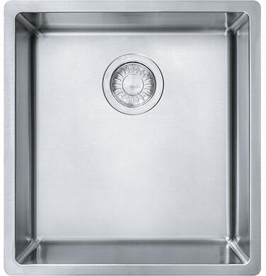 Franke CUX110 Cube Series Undermount Single Bowl Sink in Stainless Steel