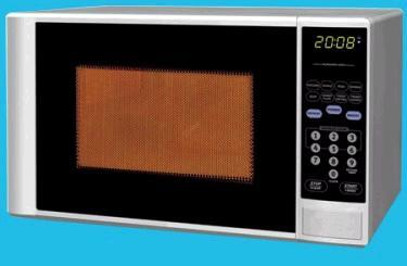 Haier MWM0701TW Countertop Microwave, in White