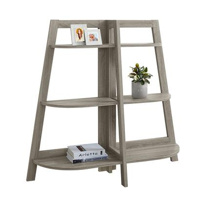 "Monarch I242X48 48"" Accent Etagere with 6 Fixed Shelves in"