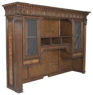Ambella 08449340001T  Desk with 3 Shelves