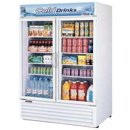 "Turbo Air TGM50RS 55.87"" Freestanding Refrigerator"