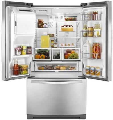 Whirlpool Wrf736sdam 36 Inch French Door Refrigerator In