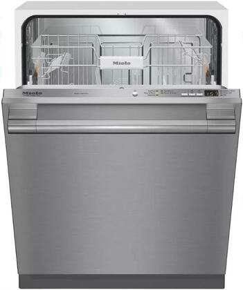 "Miele G4976x 24"" Energy Star Qualified Built-In Fully Integrated Dishwasher with 5 Cycles, Double Waterproof System, and Delay Start, in"