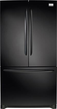 Frigidaire FGHN2844LE Gallery Series  French Door Refrigerator with 27.8 cu. ft. Total Capacity 4 Glass Shelves