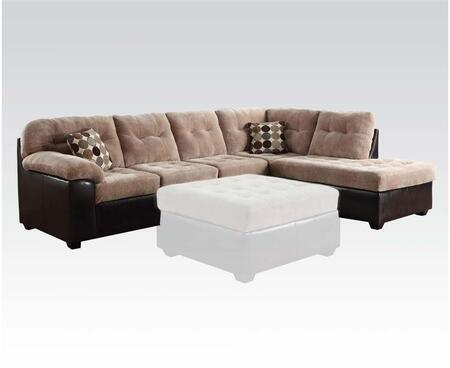 Acme Furniture 50535 Layce Series Stationary Fabric Sofa