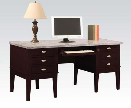 Acme Furniture 92008 Contemporary Standard Office Desk