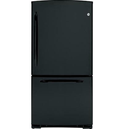GE GBSC0HBXBB  Bottom Freezer Refrigerator with 20.3 cu. ft. Total Capacity 6.2 cu. ft. Freezer Capacity 3 Glass Shelves
