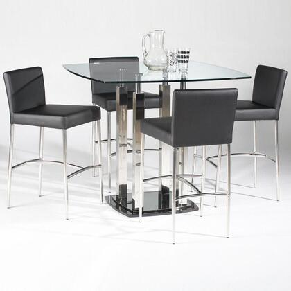 Chintaly CILLA5PIECESQUARESET Cilla Dining Room Sets