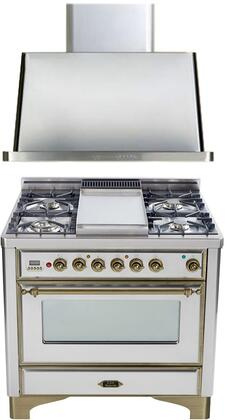 Ilve 720072 Majestic Kitchen Appliance Packages