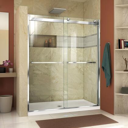 Essence H Shower Door RS46 01 B Center Drain