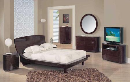 Global Furniture USA B110SK 5 Piece Bedroom Set