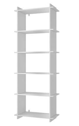 "Accentuations Gisborne 2.0 Collection 13AMCXX 27"" Open Shelf Bookcase with 5 Shelves and Clean Design in"