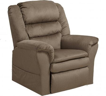 """Catnapper Preston Collection 4850 39"""" Power Lift Recliner with Pillowtop Seat, Triple Pub Back Design, Padded Arms, Lay-Flat Reclining and Polyester Fabric Upholstery"""