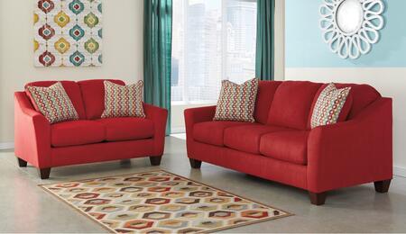 Signature Design by Ashley 95801QSSL Hannin Living Room Sets