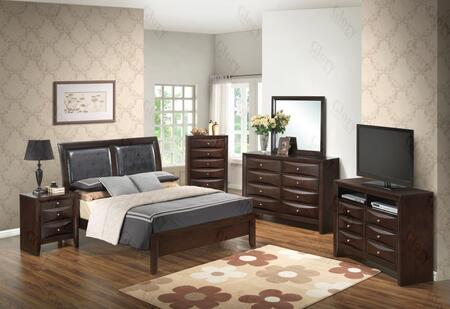 Glory Furniture G1525AKBNTV2 G1525 King Bedroom Sets