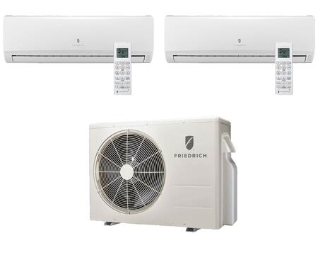 Friedrich Entire Multi-Zone Ductless Split System with Remote Controls
