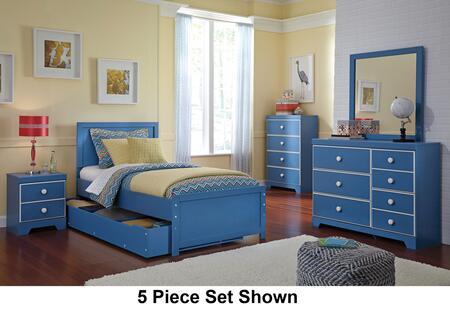 Signature Design by Ashley B045SET6PCTS Bronilly Twin Bedroo