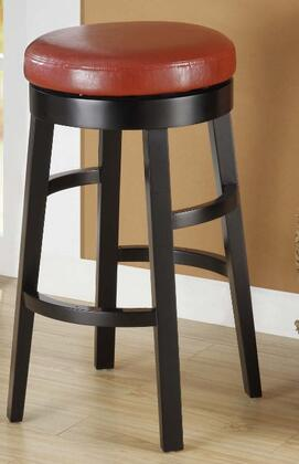 Armen Living LC4050BARE26 Residential Bycast Leather Upholstered Bar Stool