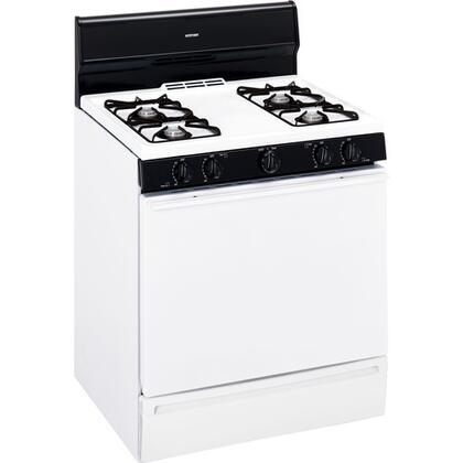 """Hotpoint RGB524PETWH 30"""" Gas Freestanding"""