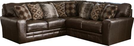 """Jackson Furniture Denali Collection 4378-62-42- 104"""" 2-Piece Sectional with Left Arm Facing Section with Corner and Right Arm Facing Loveseat in"""