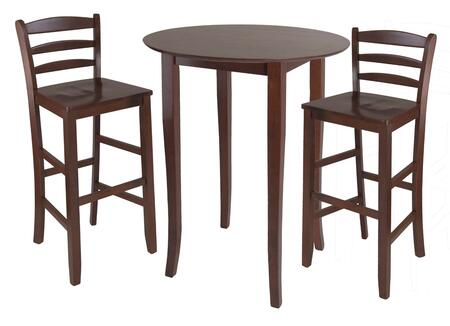 Winsome 9438X Fiona High Round Table with Stools