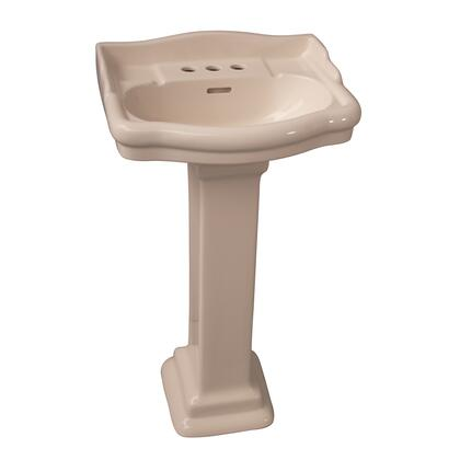 Barclay 3876BQ Bisque Bath Sink
