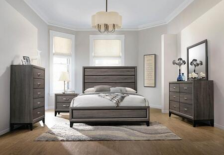Coaster Watson 5 Piece Queen Size Bedroom Set