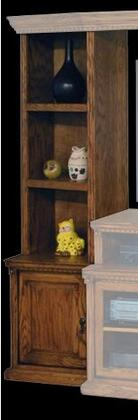 Legends Furniture SD3203RSTScottsdale Series Wood 3 Shelves Bookcase