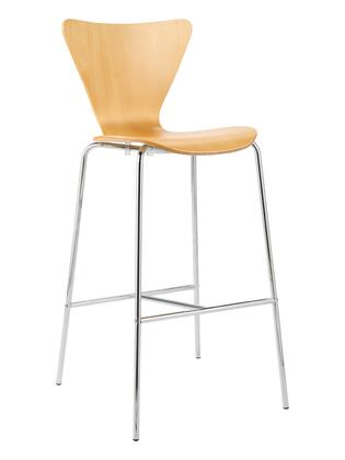 Euro Style 02830 Tendy Series  Bar Stool