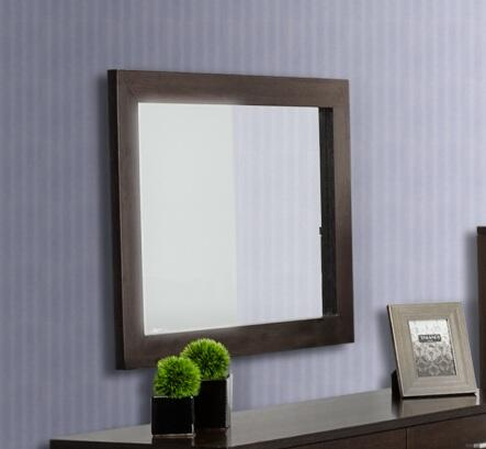 VIG Furniture VGDEB1030WGE Modrest Bravo Series Rectangular Landscape Dresser Mirror