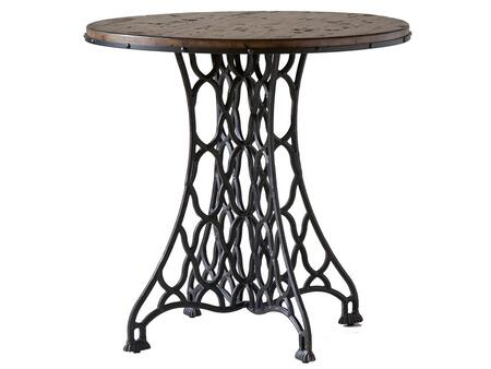 Stein World 249021 Jane Rae Series Traditional Round End Table