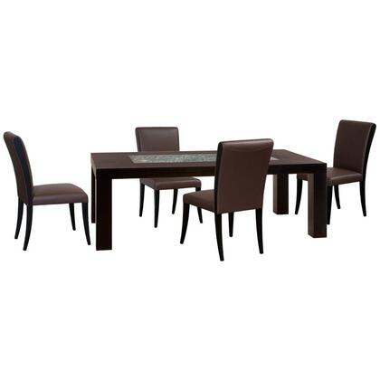 Diamond Sofa D0716L990M5PC Diamond Sofa Dining Room Sets
