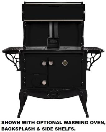 Stanley WSERWBNBBLK  Woodburning Freestanding Range with 1.8 cu. ft. Primary Oven Capacity, in other