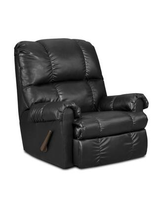 Chelsea Home Furniture 478700-X Grace Handle Rocker Recliner, Medium Cushion Firmness, and Upholstery in Fabric or Bonded Leather