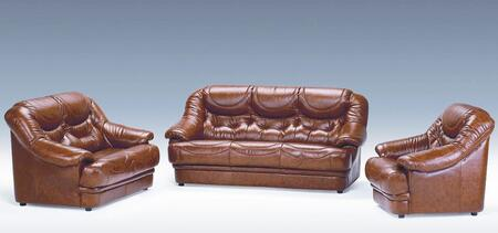 VIG Furniture VGDIMALAGA Modern Leather Living Room Set