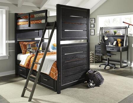 Samuel Lawrence 8942730731732BDHD Graphite Twin Bedroom Sets