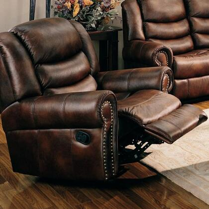 Coaster 600453 Aiden Series Transitional Wood Frame  Recliners