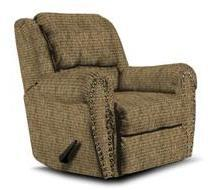 Lane Furniture 21414481217 Summerlin Series Transitional Fabric Wood Frame  Recliners