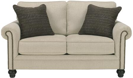 Flash Furniture FSD1309LSLINGG Milari Series Fabric Stationary with Wood Frame Loveseat