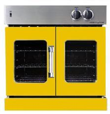 American Range AROFG30YW Single Wall Oven, in Yellow